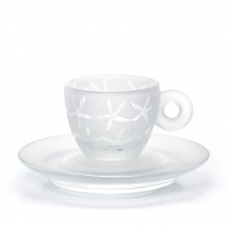 "Amici ""Coffee Flowers"" Esrpesso Tassen Set"